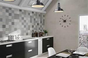 Welche Tapete Für Küche : fliesen in der k che mit moderne patchwork muster beste hause dekorieren ideen ~ Sanjose-hotels-ca.com Haus und Dekorationen