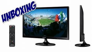 Unboxing Tv Led 21 5 U0026 39  U0026 39  Samsung Full Hd