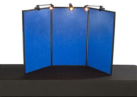 folding panel displays  tabletop display spotlights