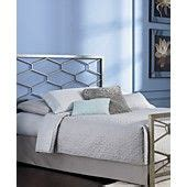 barlow golden frost queen bed metal bed frame macy s
