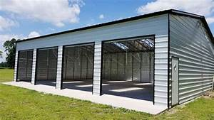 viking steel structures metal carports barns garages With 40 by 60 steel building