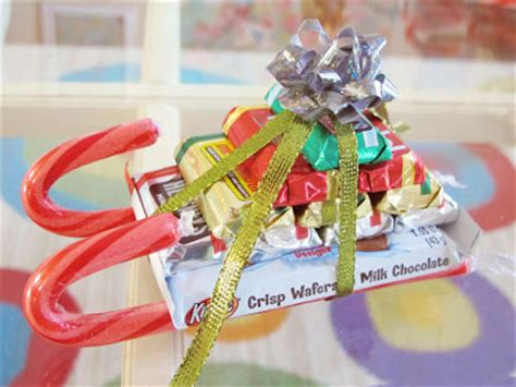 candy cane skeigh xmas craft inspire co sleigh