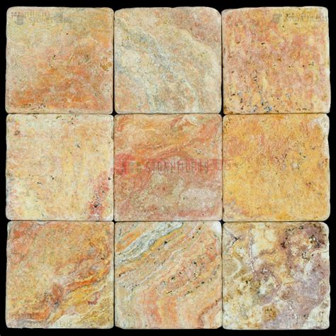 travertine mosaic tile peach blend tumbled travertine mosaic tiles 4x4 natural stone mosaics
