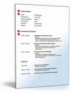 Bewerbung Nebenjob Schüler : lebenslauf nebenjob sch ler student muster zum download ~ Eleganceandgraceweddings.com Haus und Dekorationen