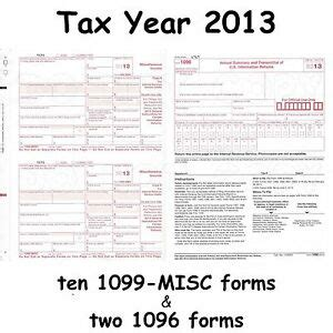 ten 1099 misc miscellaneous income 2013 irs tax forms 2