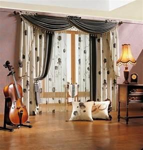 Gardinen Wohnzimmer Eine Art Dekoration Oder Was