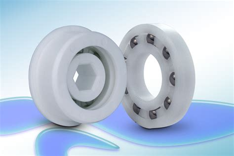 plastic ball bearings  qbc feature glass   stainless steel balls quality bearings