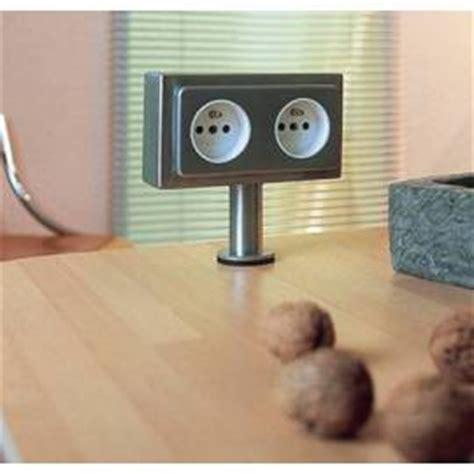 bloc cuisine avec electromenager prises et multiprise électrique pour la cuisine