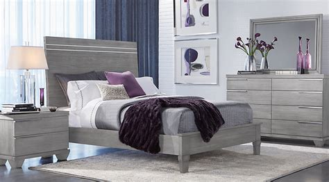 boerum hill gray 5 pc king bedroom king bedroom sets colors