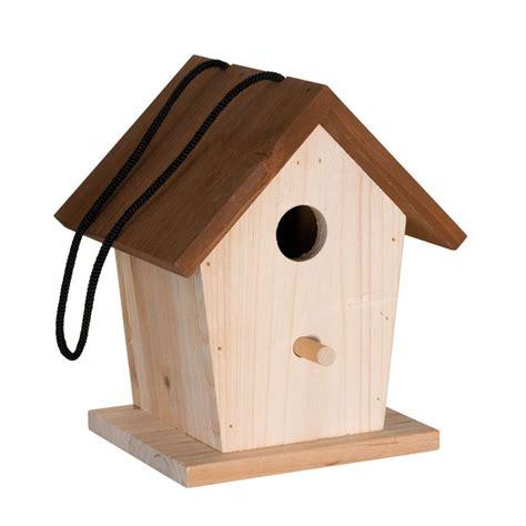 nichoir pour oiseaux en bois pour abriter les petits oiseaux des villes