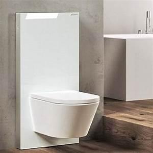 Geberit Monolith Wc : panneaux geberit monolith pour une salle de bain design ~ Frokenaadalensverden.com Haus und Dekorationen