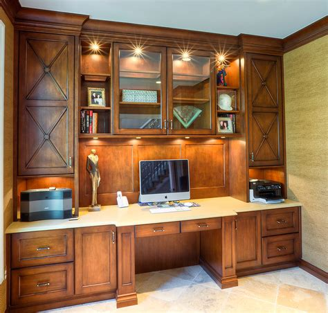 Custom Home Office Cabinets  Builtin Cabinets For Home