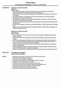 regional sales manager resume samples velvet jobs With regional sales manager resume template
