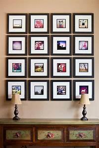 Petit Cadre Deco : le cadre photo d co comment l 39 arranger ~ Teatrodelosmanantiales.com Idées de Décoration