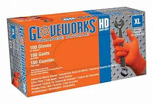 Shop Gloveworks Nitrile Disposable Work Gloves Online For Sale  U2014 Lifeandhome Com