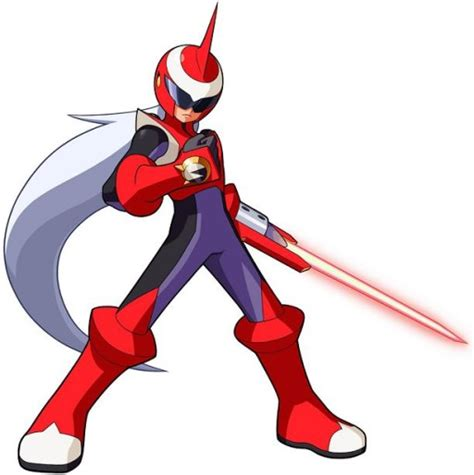 Protoman From Megaman Nt Warrior