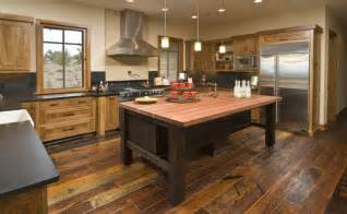 kitchen island rustic 27 quaint rustic kitchen designs tons of variety