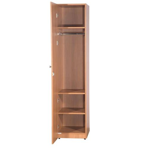 Single Door Wardrobe Closet by One Door Wardrobe With Shelves Exterior Door Radius Top