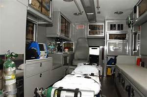 Inside an ambulance geared for event cover. | Heathrow Air ...