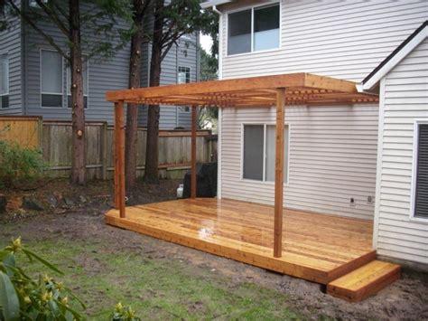 custom patio cover deck masters llc portland or