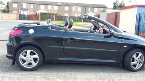 Peugeot 206 Convertible by Middlesbrough Peugeot 206 Cc Convertible