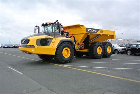 volvo ah articulated hauler launched   zealand