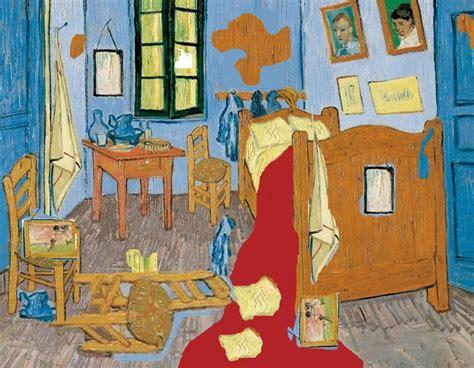 la chambre à coucher de gogh du d 233 sordre dans la chambre gogh coll 232 ge yves