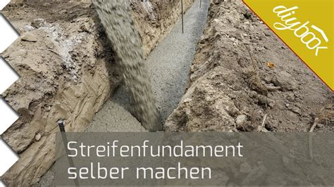 Mit Dem Streifenfundament Frostfrei Gruenden by Frostsicheres Fundament