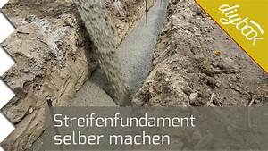 Bewehrung Bodenplatte Aufbau : streifenfundament selber machen youtube ~ Orissabook.com Haus und Dekorationen