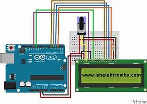 Cara Program Lcd Karakter 16x2 Menggunakan Arduino Dan
