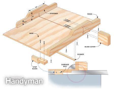 table  jigs build  table  sled diy table