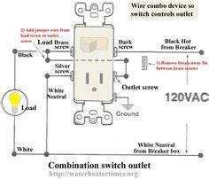 How Wire Switches Combination Switch Outlet Light
