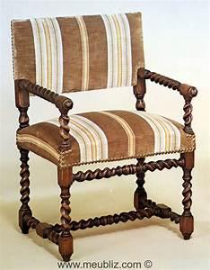 Chaise Louis Xiii : chaise bras louis xiii petit dossier meuble de style ~ Melissatoandfro.com Idées de Décoration