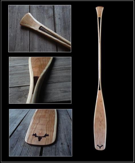 Wood Canoe Paddles Designs