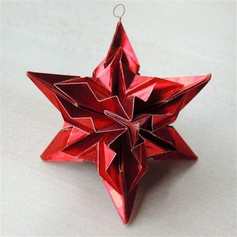 christmas ornament origami kiek s atelier pinterest
