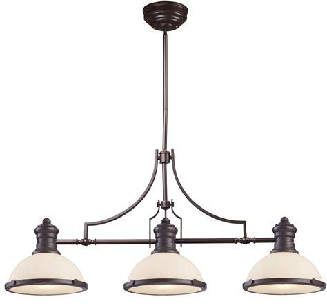 island lighting fixtures elk 66635 3 modern bronze kitchen island light
