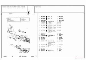 Landini 7550 Accessories And Application Miscellaneous