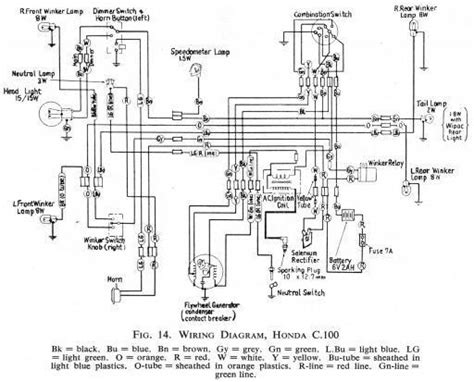 Wiring Schematic Honda Stroke All The Data For