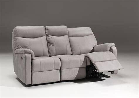 canapé de relaxation electrique canapé 3 places relax electrique cara vento gris clair 79 10
