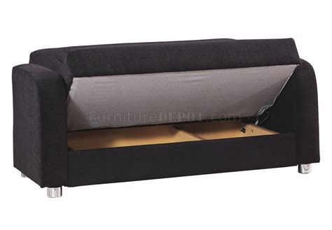 black fabric sofa bed joker sofa bed in black fabric by casamode w options