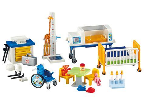 trouver un hotel avec dans la chambre matériel de pédiatrie 6295 playmobil