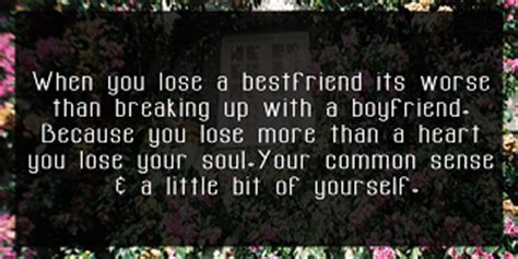 sad quotes  losing   friend