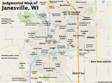 JUDGMENTAL MAPS: Janesville, WI by GM is gone - get over ...