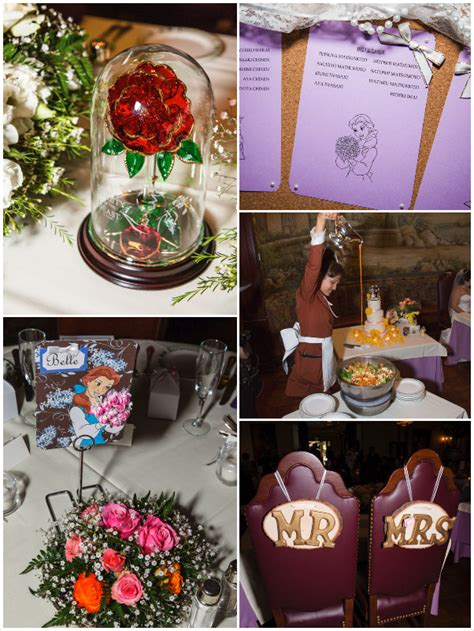 Beauty and the Beast Wedding Theme