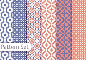 Colorful Arabic Pattern Set - Download Free Vector Art