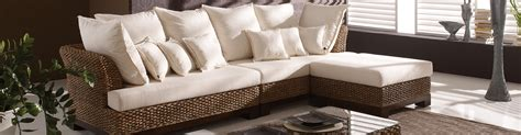 wicker sectional sofa indoor brilliant home apartment living room decor showing idyllic