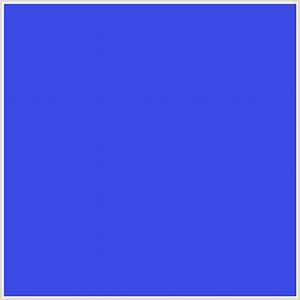 #3C4BE6 Hex Color | RGB: 60, 75, 230 | BLUE, ROYAL BLUE