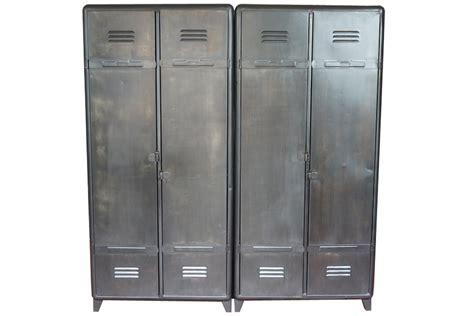vestiaire industriel pas cher armoire industrielle atelier vintage mobilier industriel lyon