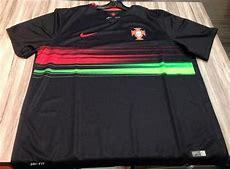 New Portugal Away Shirt 201516 Black Portugal Jersey