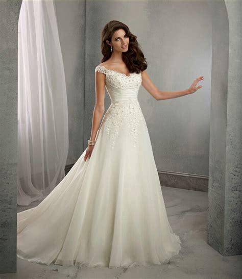 cap sleeves long lace wedding dress uniqisticcom